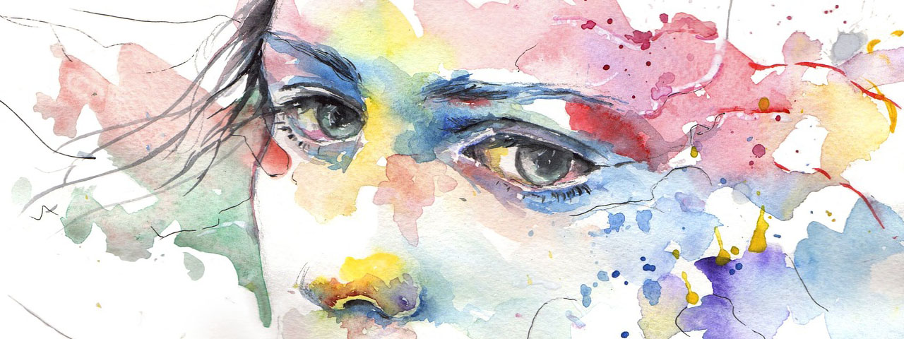 Healthy Eyes Painted in Beautiful Colors